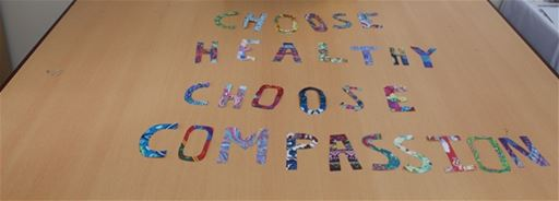 CHOOSE HEALTHY CHOOSE COMPASSION ART EXHIBITION